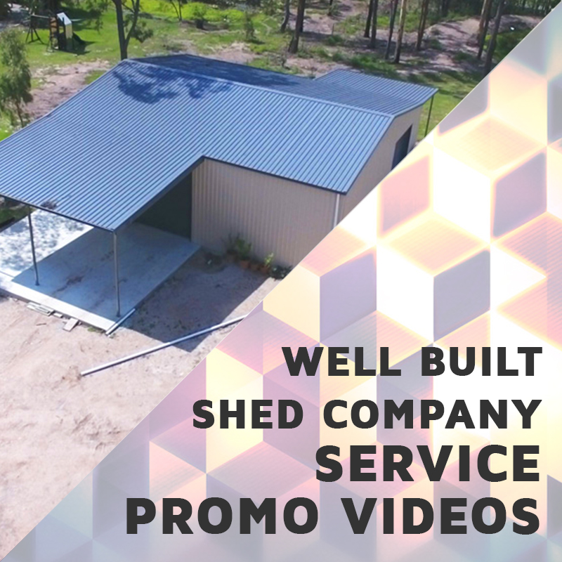 Well Built Sheds at The Video Box Video Portfolio